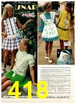 1972 Montgomery Ward Spring Summer Catalog, Page 418