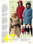 1971 Sears Fall Winter Catalog, Page 47