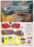 1957 Sears Spring Summer Catalog, Page 813