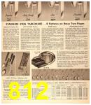 1956 Sears Fall Winter Catalog, Page 812