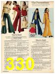 1973 Sears Fall Winter Catalog, Page 330