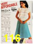1987 Sears Spring Summer Catalog, Page 116