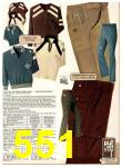 1978 Sears Fall Winter Catalog, Page 551