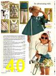 1969 Sears Spring Summer Catalog, Page 40