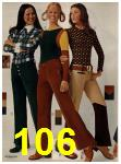 1972 Sears Fall Winter Catalog, Page 106
