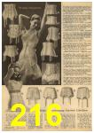 1961 Sears Spring Summer Catalog, Page 216