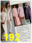 1985 Sears Fall Winter Catalog, Page 192