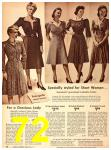 1942 Sears Spring Summer Catalog, Page 72