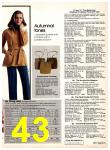 1977 Sears Fall Winter Catalog, Page 43