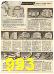 1960 Sears Spring Summer Catalog, Page 993