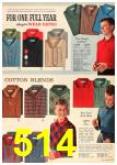 1962 Sears Fall Winter Catalog, Page 514