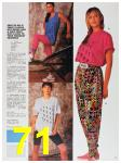 1991 Sears Spring Summer Catalog, Page 71
