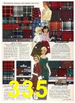 1958 Sears Fall Winter Catalog, Page 335