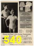 1965 Sears Spring Summer Catalog, Page 540
