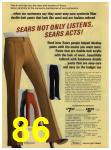 1972 Sears Fall Winter Catalog, Page 86