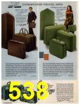 1972 Sears Fall Winter Catalog, Page 538