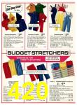 1977 Sears Fall Winter Catalog, Page 420