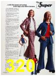 1973 Sears Spring Summer Catalog, Page 320