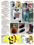 1982 Sears Fall Winter Catalog, Page 495