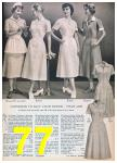 1957 Sears Spring Summer Catalog, Page 77