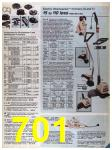 1986 Sears Spring Summer Catalog, Page 701
