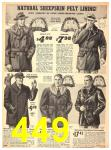 1940 Sears Fall Winter Catalog, Page 449