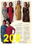 1965 Sears Fall Winter Catalog, Page 208