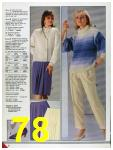 1986 Sears Fall Winter Catalog, Page 78