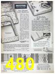 1967 Sears Fall Winter Catalog, Page 480