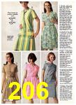 1969 Sears Spring Summer Catalog, Page 206