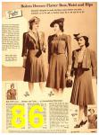 1940 Sears Fall Winter Catalog, Page 86