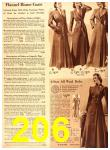 1940 Sears Fall Winter Catalog, Page 206