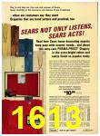 1972 Sears Fall Winter Catalog, Page 1613