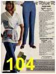 1981 Sears Spring Summer Catalog, Page 104