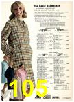 1974 Sears Spring Summer Catalog, Page 105