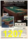 1975 Sears Fall Winter Catalog, Page 1207