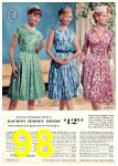 1962 Montgomery Ward Spring Summer Catalog, Page 98