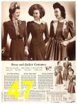 1940 Sears Fall Winter Catalog, Page 47