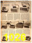 1958 Sears Fall Winter Catalog, Page 1026