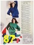 1987 Sears Fall Winter Catalog, Page 87