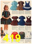 1962 Sears Fall Winter Catalog, Page 419