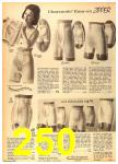 1962 Sears Fall Winter Catalog, Page 250