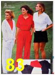 1986 Sears Spring Summer Catalog, Page 83