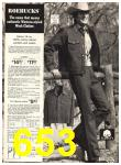1974 Sears Fall Winter Catalog, Page 653