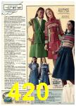 1976 Sears Fall Winter Catalog, Page 420