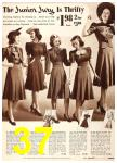 1940 Sears Fall Winter Catalog, Page 37