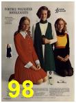1972 Sears Fall Winter Catalog, Page 98