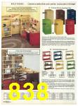 1982 Sears Fall Winter Catalog, Page 838