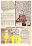 1958 Sears Spring Summer Catalog, Page 710