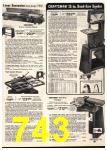 1975 Sears Spring Summer Catalog, Page 743